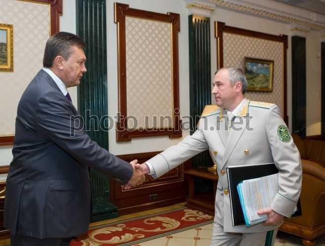 Калєтнік та Янукович